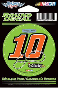 Danica #10 Sprint Cup Decal